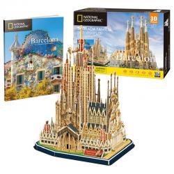 Puzzle 3D La Sagrada Familia National Geographic - Imagen 1