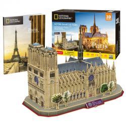 Puzzle 3D Notre Dame Paris National Geographic - Imagen 1