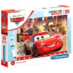 Puzzle Cars Disney 30pzs - Imagen 1