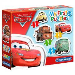 Puzzle My First Puzzle Cars Disney 3-6-9-12pzs - Imagen 1