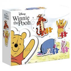 Puzzle My First Puzzle Winnie the Pooh Disney 3-6-9-12pzs - Imagen 1