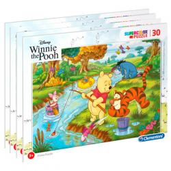 Puzzle Winnie the Pooh Disney 4x30pzs - Imagen 1