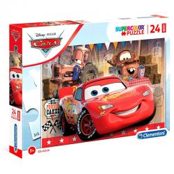 Puzzle Maxi Cars Disney 24pzs - Imagen 1