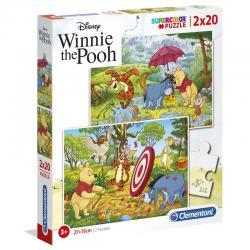 Puzzle Winnie The Pooh Disney 2x20pzs - Imagen 1