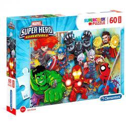 Puzzle Maxi Superhero Marvel 60pzs - Imagen 1