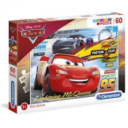 Puzzle Cars 3 Disney 60pzs - Imagen 1