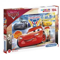 Puzzle Cars 3 Disney 104pzs - Imagen 1