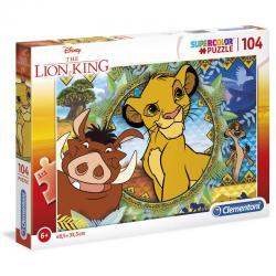 Puzzle El Rey Leon Disney 104pzs - Imagen 1