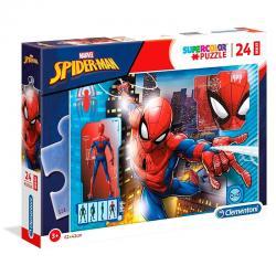 Puzzle Maxi Spiderman Marvel 24pzs - Imagen 1
