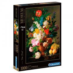 Puzzle Jarron Flores Museo Louvre 1000pzs - Imagen 1