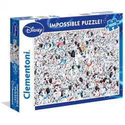 Puzzle Imposible 101 Dalmatas Disney 1000pzs - Imagen 1