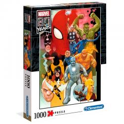 Puzzle Marvel 80 Years 1000pz - Imagen 1