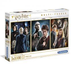 Set 3 puzzles Personajes Harry Potter 3x1000pz - Imagen 1