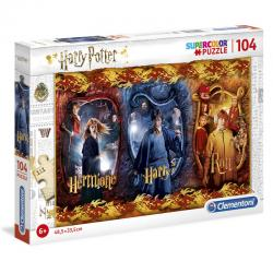 Puzzle Harry, Ron y Hermione Harry Potter 104pz - Imagen 1