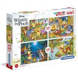 Puzzle Winnie the Pooh Disney 2x20pzs 2x60pzs - Imagen 1