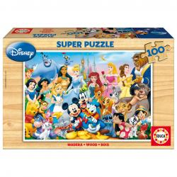 Puzzle El Maravilloso Mundo de Disney 100pz - Imagen 1