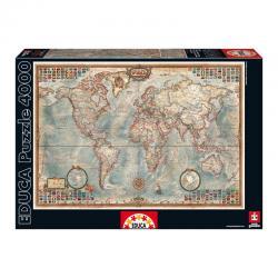 Puzzle El Mundo Mapa Politico 4000pz - Imagen 1