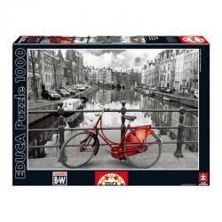 Puzzle Amsterdam Coloured Black & White 1000pz - Imagen 1