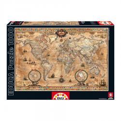 Puzzle Mapamundi 1000pz - Imagen 1