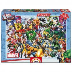 Puzzle Superheroes Marvel 1000 - Imagen 1