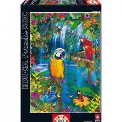 Puzzle Paraiso Tropical 500pz - Imagen 1