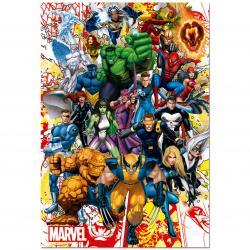 Puzzle Superheroes Marvel 500 - Imagen 1