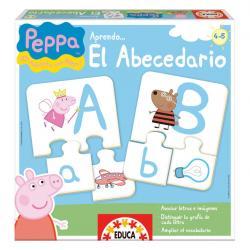 Juego aprendo el abecedario Peppa Pig - Imagen 1
