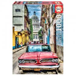 Puzzle Coche en la Habana 1000pz - Imagen 1