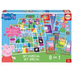 Set juegos 8 en 1 Peppa Pig - Imagen 1
