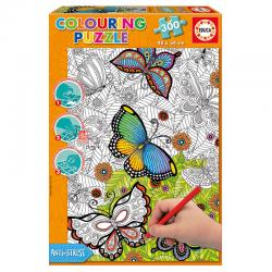 Puzzle Coloreable All Good Things are Wild and Free 300pz - Imagen 1