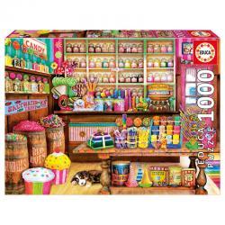 Puzzle Tienda de Dulces 1000pz - Imagen 1