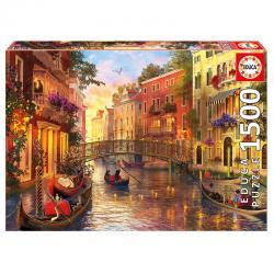 Puzzle Atardecer en Venecia 1500pz - Imagen 1