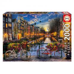 Puzzle Amsterdam 2000pz - Imagen 1