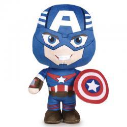Peluche Capitan America Marvel 20cm - Imagen 1