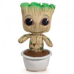 Peluche Baby Groot maceta Guardianes de la Galaxia Marvel 29cm - Imagen 1