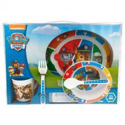 Set desayuno Patrulla Canina Paw Patrol microondas - Imagen 1