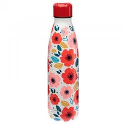 Botella acero inoxidable Amapolas - Imagen 1