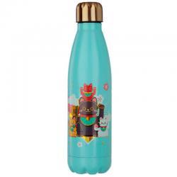Botella acero inoxidable Maneki Neko - Imagen 1