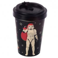 Taza viaje Navidad Original Stormtrooper bambu - Imagen 1