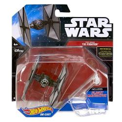 Blister Caza Tie First Order Star Wars Hot Wheels - Imagen 1