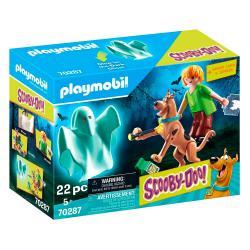 Set Scooby y Shaggy con Fantasma Scooby-Doo! Playmobil - Imagen 1