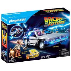 Vehículo DeLorean Regreso al Futuro Playmobil - Imagen 1