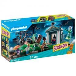 Aventura en el Cementerio Scooby-Doo! Playmobil - Imagen 1