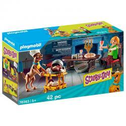 Cena con Shaggy Scooby-Doo! Playmobil - Imagen 1