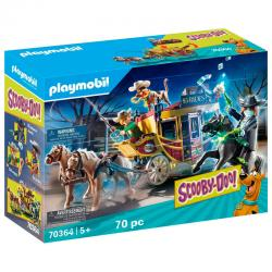 Aventura en el Salvaje Oeste Scooby-Doo! Playmobil - Imagen 1