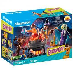 Aventura en el Caldero de la Bruja Scooby-Doo! Playmobil - Imagen 1