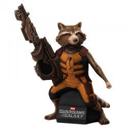 Figura hucha Rocket Raccoon Guardianes de la Galaxia Marvel - Imagen 1