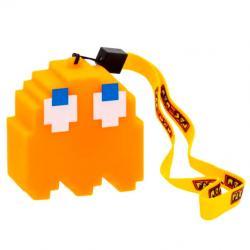 Lampara Led 3D Fantasma Naranja Clyde Pac-Man - Imagen 1