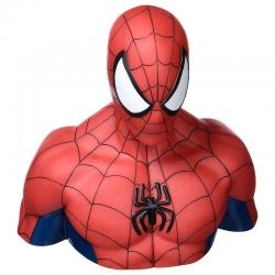 Busto hucha Spiderman Marvel 19cm - Imagen 1