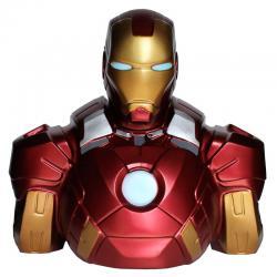 Busto hucha Iron Man Marvel 20cm - Imagen 1